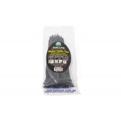 Хомут пластиковий Zollex чорний 2.5 х 150 (100 шт.)
