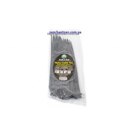Хомут пластиковый Zollex черный 3.6 х 200 (100 шт.) ZL-H-P-B-36-20