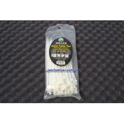 Хомут пластиковый Zollex белый 3.6 х 150 (100 шт.)