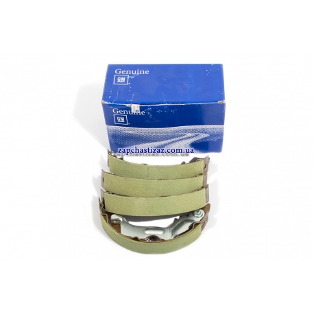 Колодки ручного (стояночного) тормоза Лачетти GM 96496764