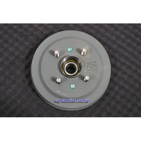 Барабан тормозной задний с ABS cо ступицей Авео T200 GM 96473233
