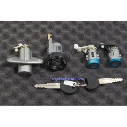 Замки с ключами Ланос Сенс седан (без иммобилайзера) Genuine