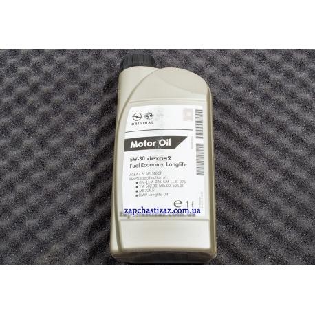 Масло GM Dexos2 5W-30 синтетика 1л 5W-30 GM 1L Фото 1 1942000