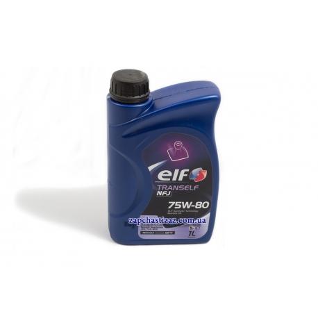 Масло трансмиссионное ELF TransElf NFJ 75W80 GL-4 1л EF-7580-01