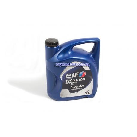Масло ELF EVOLUTION 900 NF 5W40 синтетика 5л EF-900NF-05