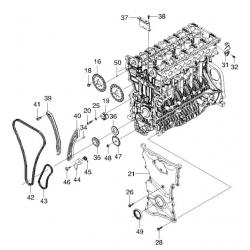 Шестерня распредвала выпускного Эпика 2.5 GM