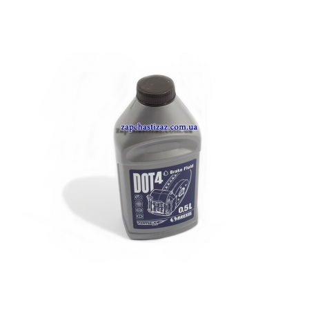 Тормозная жидкость DOT-4 Tomex 0.5л DO-40