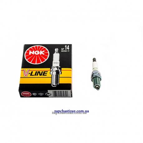 Свечи зажигания NGK для Ланос 1.6, цена за комплект из 4 штук VL14-BKR6E-11 Фото 1 VL14-BKR6E-11