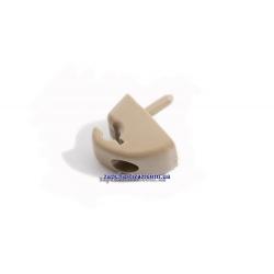 Кронштейн солнцезащитного козырька (бежевый) Т250-255 Авео