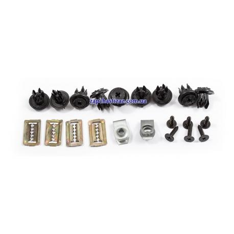 Комплект крепления переднего бампера Ланос Сенс 09409-09302 Фото 1 09409-09302