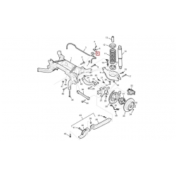 Втулка стабілізатора задня Каптива C100 CTR