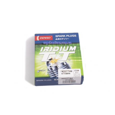 Свечи Denso Iridium TT (TWIN TIP) Таврия Ланос Авео 1.5 IW20TT