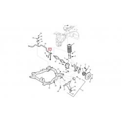 Стойка переднего стабилизатора левая Каптива Samyung