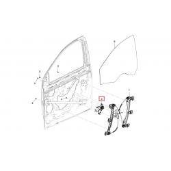 Двигатель стеклоподъёмника передний правый Круз Авео T300 GM