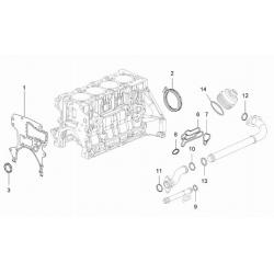 Прокладка (кольцо) впускной трубки масляного фильтра 1.4 LDT, 1.6 LDE, 1.8 2H0 TOPIC-KAP