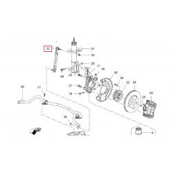 Стойка стабилизатора передняя Круз GM