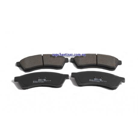 Колодки тормозные задние Эпика Hi-Q SP1119-R