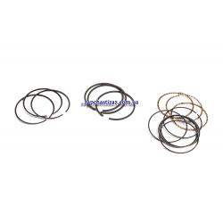 Кільця поршневі STD 68,50 н. зразка 1,2 + 1,2 + 2,4 на 3 циліндра Kobis