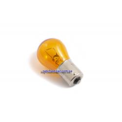 Лампочка PY21W жёлтая Tesla TS B52301 Фото 1