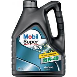 Масло Mobil Super 1000 15W40 мінералка 4л
