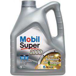 Масло Mobil Super 3000 XE 5W30 синтетика 4л
