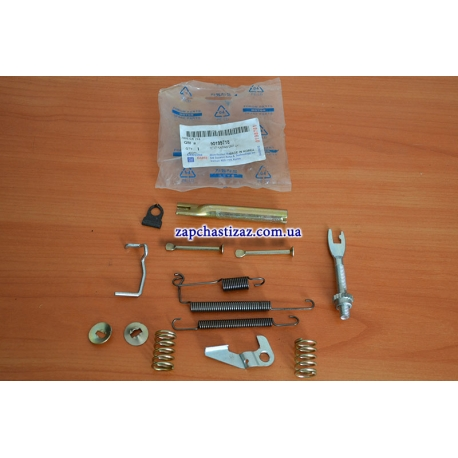 Ремкомплект для задних левых тормозных колодок Ланос Сенс 90199718 DW Фото 1 90199718 DW