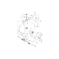 Шланг (трубка) гідропідсилювача від бачка до насоса Такума GM