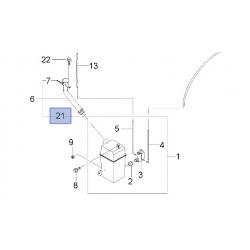 Кольцо уплотнительное бачка омывателя Лачетти GM