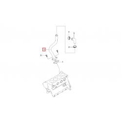 Трубка вентиляции картера (сапун) Ланос Нубіра 1.6 GM