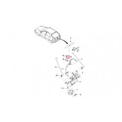 Опора втулки привода замка двери задка (актуатора) GM