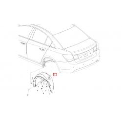 Підкрилок задній лівий Круз седан GM