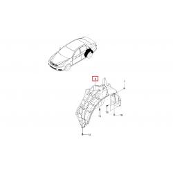 Подкрылок задний левый Эпика GM