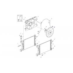Вентилятор радіатора охолодження основний Круз МКПП 1.6 LXT, 1.6LDE, 1.8 2H0 GM