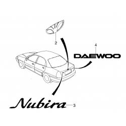 Эмблема NUBIRA GM