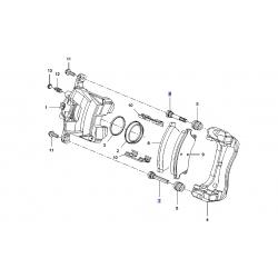 Направляющая (палец) переднего тормозного цилиндра Авео T300 Круз GM