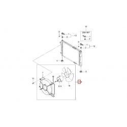 Вентилятор радиатора основной Матиз M150 GM