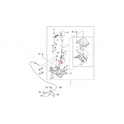 Втулка важеля селектора АКПП Ланос 1.5-1.6 Нубіра 1.6 2.0 Такума 1.8-2.0 Леганза 2.0-2.2 GM