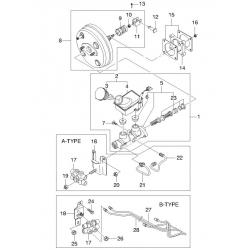 Рампа топливная Авео 1.4, 1.5, 1.6 GM