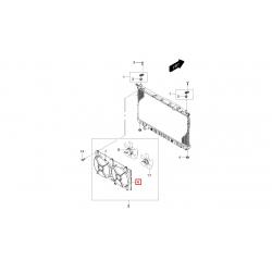 Диффузор основного вентилятора Эпика GM