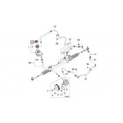 Кришка бачка гідропідсилювача керма Матіз M100 M150 Нубіра Такума GM