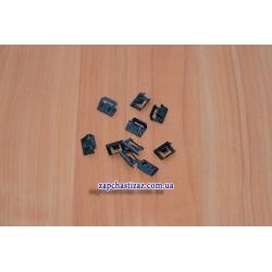 Скоба (защёлка) магнитофона малая Ланос ЗАЗ (к-т, 10 шт.)