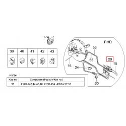 Клапан распределения тормозных усилий Авео Круз без АБС GM