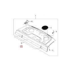 Пістон (кліпса) кріплення задньої полиці і оббивки арки задн. колеса Авео T200 T250 седан Епіка GM
