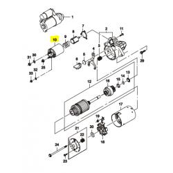 Реле втягивающее 0.8 кВт без сердечника Ланос Такума до 02 г GM