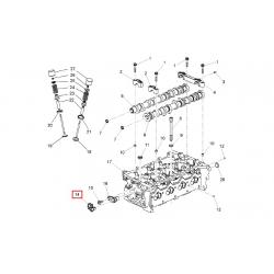 Датчик положення розподільного Спарк Авео 1.2 GM