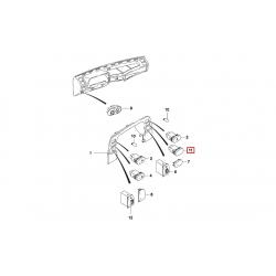 Кнопка включения задних противотуманных фар Нексия N100 GM