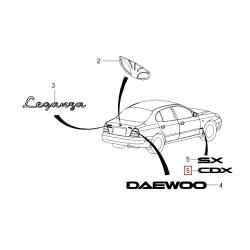 Напис CDX Леганза GM