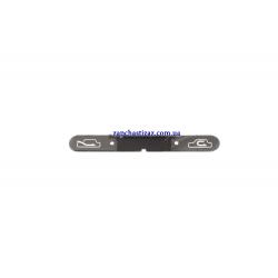 Надпись (обозначения) рециркуляции блока управления отопителем и кондиционера GM