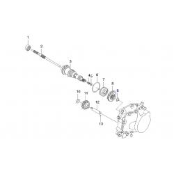 Кільце стопорне первинного вала під шестерню 5 передачі GM