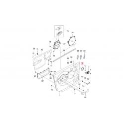 Облицовка внутренней ручки двери Авео T200 T255 3-дв. хэтчбек GM